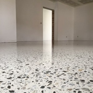 polished commercial concrete flooring