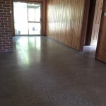 home polished concrete floor