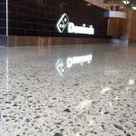 Dominos Polished Concrete retail floor