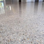 polished concrete new build