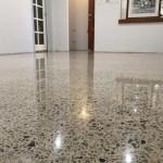 polished concrete renovation home