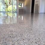 polished concrete house