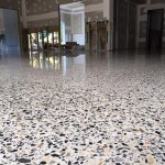Polished Concrete renovation residential