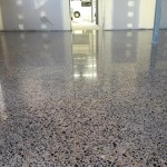 commercial retail office polished concrete