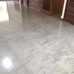 acyrilic water based polished concrete