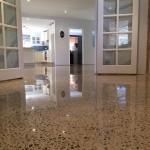 polished concrete renovating