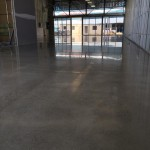 commercial retail shop flooring polished concrete