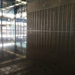 industrial style polished concrete retal commercial flooring