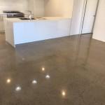 kitchen polished concrete