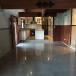 residential polished concrete perth