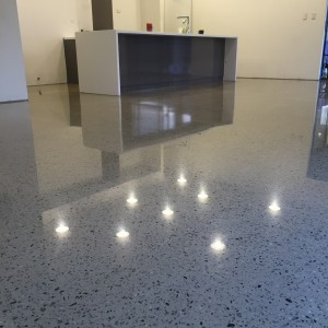 polished concrete commercial flooring