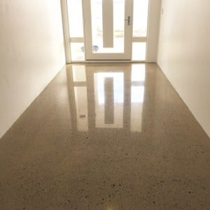 honed polished concrete floors