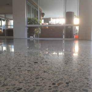 honed polished residential floors