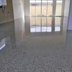 residential aggregate polished concrete
