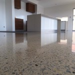 polished concrete kitchen floors