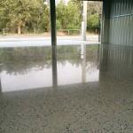 residential concrete floor polishing