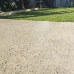 matte polished concrete outdoor