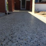 honed polished outdoor flooring