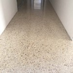 hallway polished concrete floors