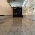 honed polished kitchen floor