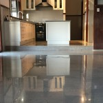 residential kitchen polished floors