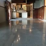 residential kitchen concrete floors