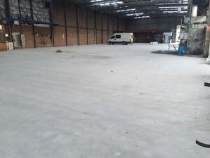 levelled concrete floors