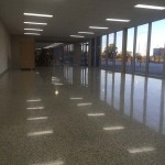 honed and polished office floors