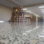 polished concrete retail flooring