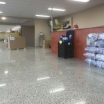 honed and polished concrete floors