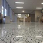 commercial concrete floors polishing