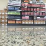 retail concrete floors polishing