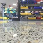 polished retail concrete flooring