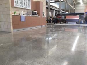 matte polished industrial floors