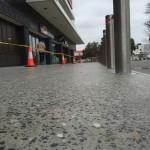 pedestrian concrete flooring