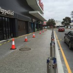 polished concrete footpath