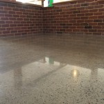 home polished concrete salt and pepper