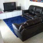 livingroom matte polished concrete