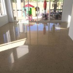 residential home concrete flooring