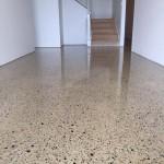 residential concrete floors polishing