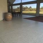 outdoor concrete flooring