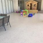 terrace polished concrete flooring