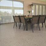 home terrace concrete floors