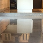 residential polished flooring
